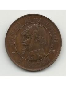 Monnaie Satirique 10 Centimes
