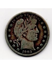Half Dollar Argent - United States - Liberty Head
