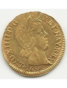 Louis D'Or - A La Mèche Longue - 1650 T