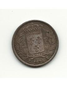 1 Franc - Louis XVIII - 1824 A