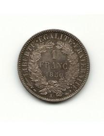 1 Franc - Cérès 2nd République - 1850 A