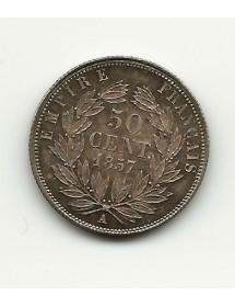 50 Centimes - Napoléon III - 1587 A