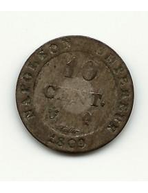 10 Centimes - 1809 Q