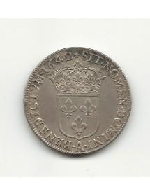 1/2  Ecu  Louis XIII 1642A