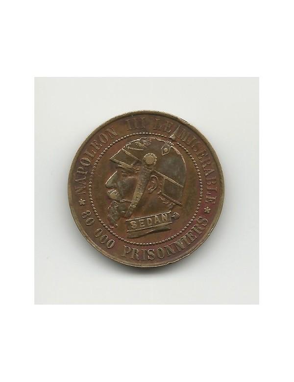 Monnaie Satirique 5 Centimes