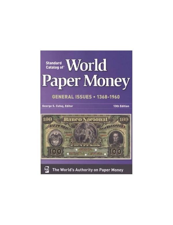 World Paper Money 1368 à 1960