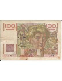 100  FRS JEUNE PAYSAN Fil Inversé