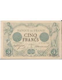 5 Franc (Noir)