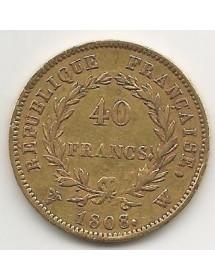 40 Francs Napoléon OR