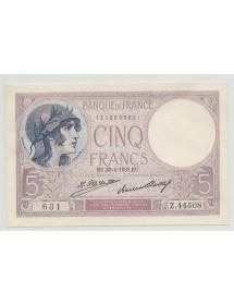 5 Francs Violet