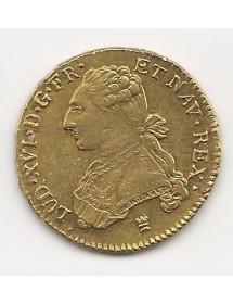 Double Louis d'OR - Buste Habillé - Louis XVI