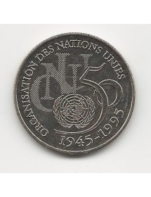 5 Francs Nickel - ONU