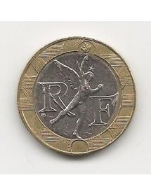 10 Francs Bronze-Alu - Génie de la bastille