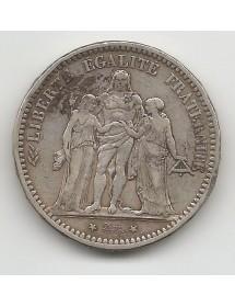 5 Francs Argent - Hercule - Camelinat