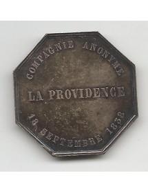 Jeton Argent - La providence