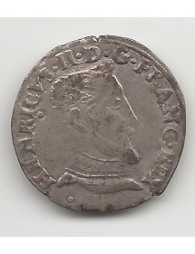 Teston Argent - Henri II