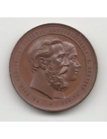 Medaille Bronze - Friedrich Wilhem et Victoria