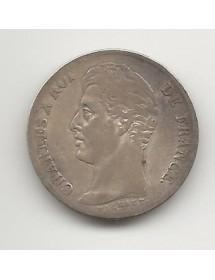 1 Franc Argent - Charles X - Type Michaud
