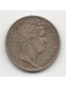 1 Franc Argent - Louis Phillipe - Tête Nue