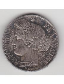1 Franc Argent - Ceres - Rare Abeille