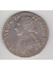 1/2 ECU Argent - Louis XVI - Aux Lauriers