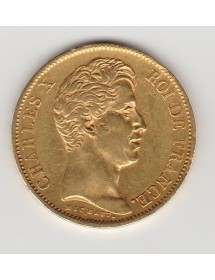 40 Francs Or - Charles X