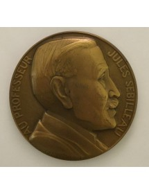 Médaille Bronze - Professeur Jules Sebilleau