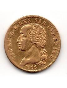 20 Lires Or - Sardaigne