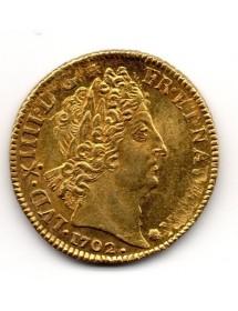 Louis d'Or - Louis XIV - Au 8 L et Insignes