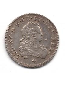1/3 Ecu Argent - Louis XV - Ecu de France