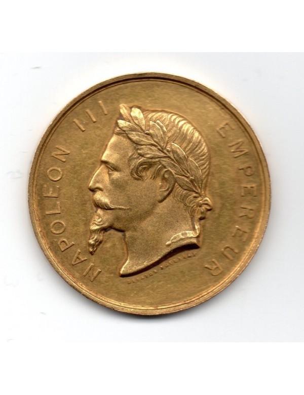 Médaille Or - Napoléon III