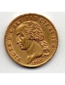 20 Lires Or - Sardaigne - Vit Emmanuel