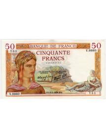 50 Francs Or - 1939