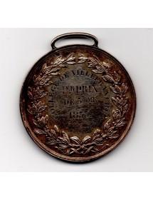 Médaille Argent - Louis Philippe 1er - Collège de ville franche