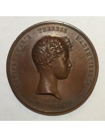 Médaille Bronze - Henri d'Artois Duc Bordeaux