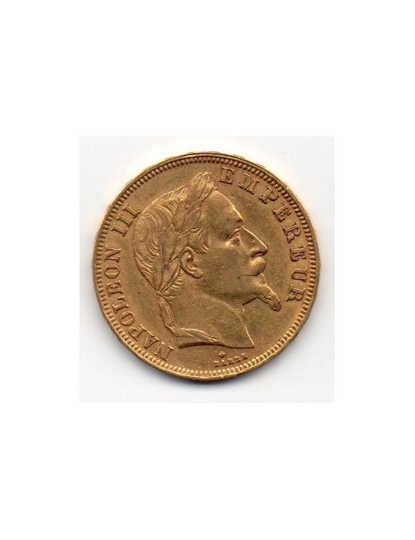 50 Francs Or - Napoléon III - Tête Laurée