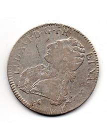 Ecu Argent - Louis XVI - Au buste Habillé