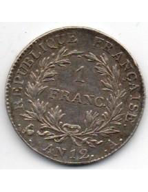 1 Franc Argent - Bonaparte - Premier Consul