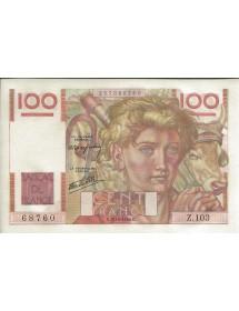 100 FRS JEUNE PAYSAN