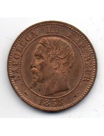 2 Centimes Bronze - Napoléon III - Tête Nue