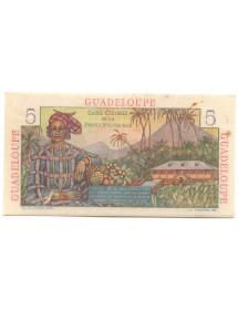 5 Francs - Guadeloupe - Type Bougainville