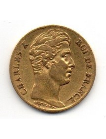 20 Francs Or - Charles X