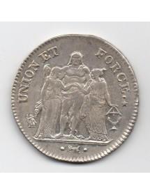 5 Francs Argent - Union et Force