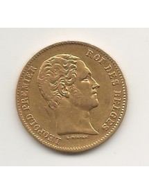 25 Francs Or - Belgique - Léopoldier - 1848