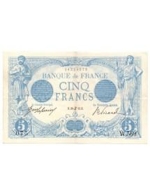 5 Francs - Bleu