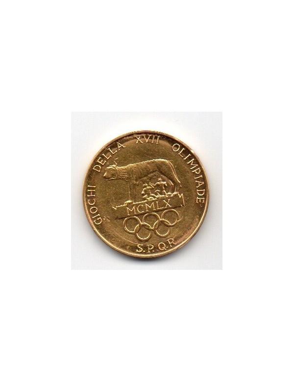 Médaille Or - Rome et Athènes - XVIIeme Olympiade