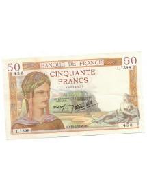 50 Francs - Cérès