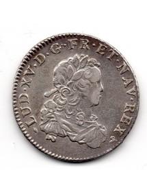 1/3 Ecu Argent - Louis XV