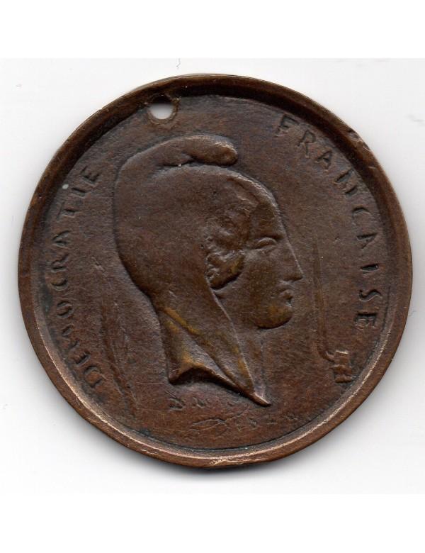 Médaille Cuivre - Massacre de Gallicie