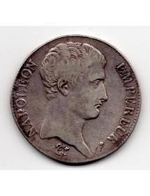 5 Francs Argent - Louis XVIII - Buste Habillé